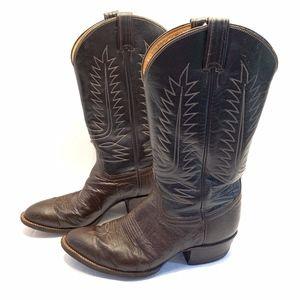Tony Lama Black Label Men's Cowboy Boots 9.5
